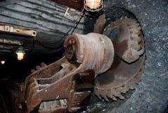 Rotella di estrazione mineraria Fotografie Stock Libere da Diritti