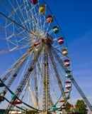 Rotella di Ferris ad una fiera della contea. Fotografia Stock Libera da Diritti