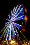 Rotella di Ferris al carnevale Fotografie Stock Libere da Diritti