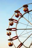Rotella di Ferris al crepuscolo immagine stock