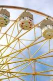 Rotella di Ferris alla fiera della contea Fotografie Stock