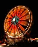 Rotella di Ferris alla notte Immagini Stock Libere da Diritti