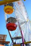 Rotella di Ferris del pilastro della Santa Monica Fotografia Stock