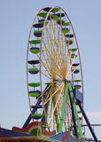 Rotella di Ferris della città dell'oceano Fotografia Stock Libera da Diritti