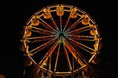 Rotella di Ferris di notte 6 Fotografie Stock Libere da Diritti