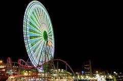 Rotella di Ferris gigante Immagini Stock Libere da Diritti