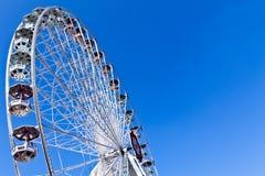 Rotella di Ferris su una fiera Immagini Stock