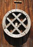 Rotella di legno antica Fotografie Stock Libere da Diritti