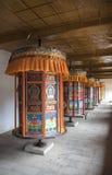 Rotella di preghiera tibetana Immagini Stock Libere da Diritti