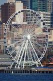 Rotella di Seattle Ferris Immagini Stock
