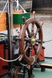 Rotella di una nave Fotografia Stock