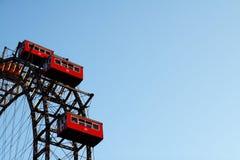 Rotella di Vienna Ferris Fotografie Stock Libere da Diritti