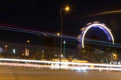 Rotella di Vienna Ferris Immagine Stock