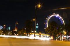 Rotella di Vienna Ferris Fotografia Stock