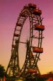 Rotella di Wienner Prater Ferris immagine stock libera da diritti