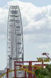 Rotella gigante del traghetto a Prater Fotografia Stock Libera da Diritti