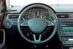 rotella interna del trasporto della direzione dell'automobile Immagine Stock Libera da Diritti