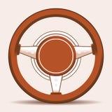 rotella interna del trasporto della direzione dell'automobile Fotografia Stock Libera da Diritti