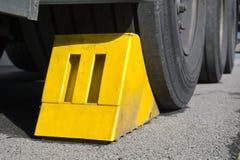 Rotelle del camion Fotografie Stock Libere da Diritti