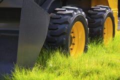 Rotelle del trattore Fotografie Stock Libere da Diritti