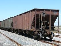Rotelle del treno fotografie stock libere da diritti