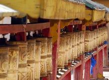Rotelle di preghiera immagine stock
