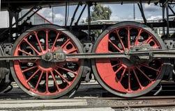 Rotelle locomotive Fotografie Stock Libere da Diritti