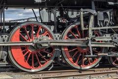 Rotelle locomotive Fotografia Stock Libera da Diritti