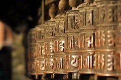 Rotelle nepalesi Fotografie Stock