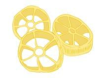 Rotelle pasta. Stock Photos