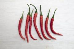 Roten Paprikas Lizenzfreies Stockbild