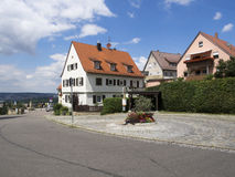 Rotenberg village, near Stuttgart Royalty Free Stock Photo