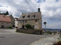 Rotenbergdorp, dichtbij Stuttgart Royalty-vrije Stock Afbeeldingen