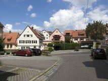 Rotenbergdorp, dichtbij Stuttgart Royalty-vrije Stock Foto's