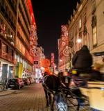 Rotenturmstrasse and a Fiaker, Vienna Royalty Free Stock Photo