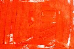 Roter Ölfarbehintergrund Stockbild