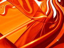 Roter abstrakter Hintergrund Lizenzfreies Stockbild