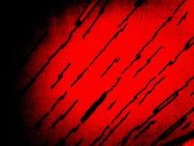 Roter abstrakter Hintergrund mit schwarzen Linien Stockfoto