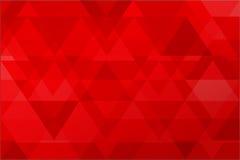 Roter abstrakter Hintergrundvektor Stockbilder
