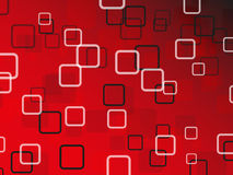 Roter abstrakter Vektorhintergrund Lizenzfreie Abbildung