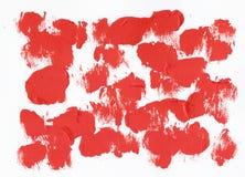 Roter Acrylhintergrund Stockfoto