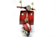 Roter alter Weinlese-Roller Stockbild