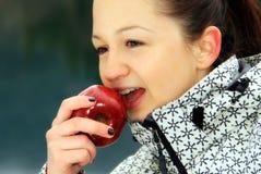 Roter Apfel Lizenzfreie Stockfotos