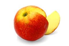 Roter Apfel. stockfotografie