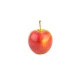Roter Apfel auf weißem Hintergrund Lizenzfreie Stockbilder