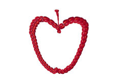 Roter Apfel für Entwerfer Stockfotos
