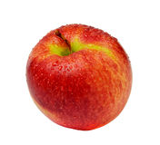 Roter Apfel getrennt Lizenzfreie Stockbilder