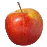 Roter Apfel getrennt auf Weiß lizenzfreie stockbilder