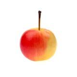 Roter Apfel lokalisiert auf weißem Hintergrund Lizenzfreies Stockbild