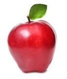 Roter Apfel trennte Stockfotografie